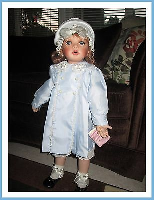 Paradise Galleries Collection Doll 25 Inch Tall Blue Dress