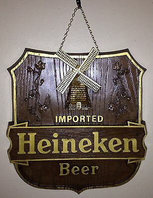 "Heineken Beer Sign - ""Old World Shield"""