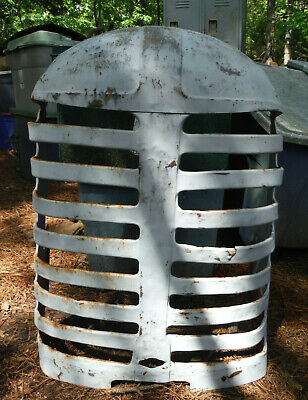 Massey Harris Mh44 Front Nose Cone Tractor Grill Hood