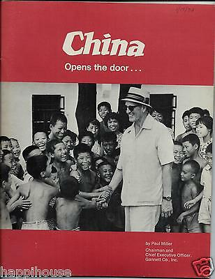 China Opens The Door 1972 Paul Miller Gannett Co   Photographs