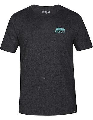 Hurley Daybreak Short Sleeve T-Shirt in Black Htr