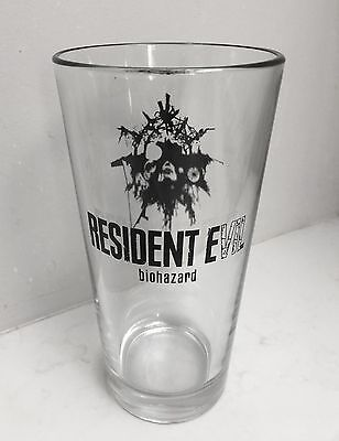 NEW OFFICIAL Resident Evil Clear Glass 6