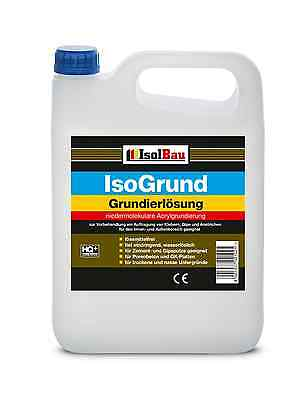 Isolbau Tiefengrund Isogrund 10 L Grundierung  Acrylgrundierung SUPER QUALITAT