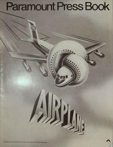 Airplane! Pressbook 1980 Robert Hays, Julie Hagerty