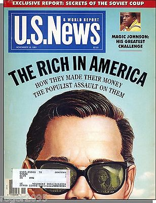 Us News   World Report   1991  November 18   The Rich In America