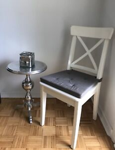 Moving Sale IKEA Ingolf Solid Wood Chair with cover.