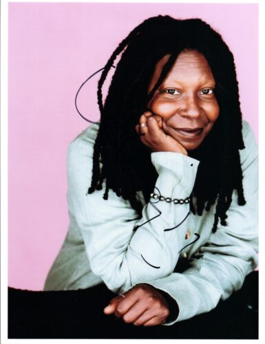 Whoopi Goldberg Signed Autographed 8x10 Photo Lion King Sister Act COA VD