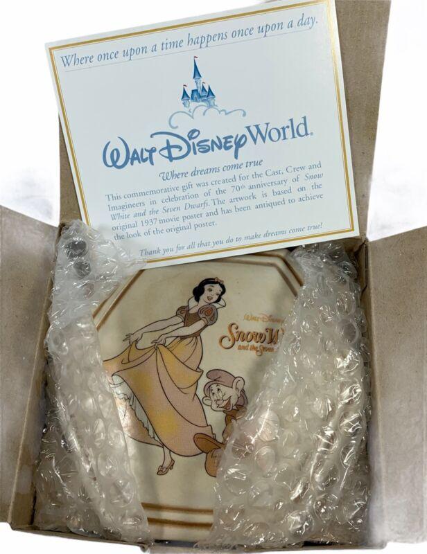 DISNEY SNOW WHITE DWARFS 70th Anniversary Celebration CAST MEMBERS Trinket Box