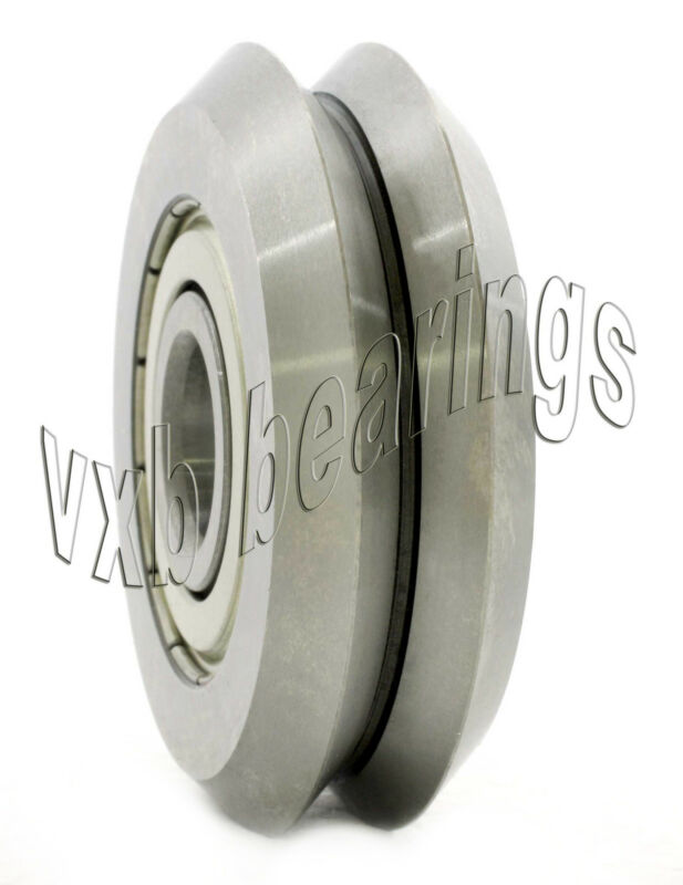 "Wholesale Lot of 12 pcs. 3/8"" V Groove Guide Bearings:Shielded RM2ZZ W2 W2ZZ NW2"