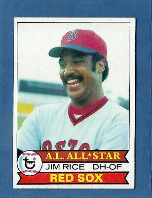 1979 Topps Jim Rice Boston Red Sox #400 MINT & Well Centered! Boston Red Sox Center