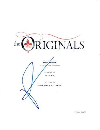 Phoebe Tonkin Signed Autograph THE ORIGINALS Pilot Episode Script COA AB