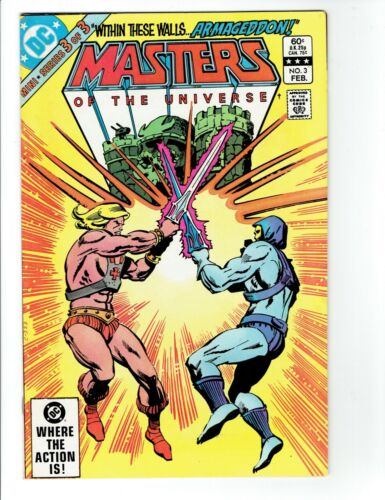 Masters of the Universe (DC) #3 1983 VF- 7.5