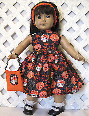 Cat Girl For Halloween (AMERICAN MADE CLOTHES FOR 18