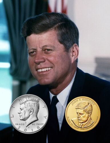 Kennedy Half Dollar & Dollar Set