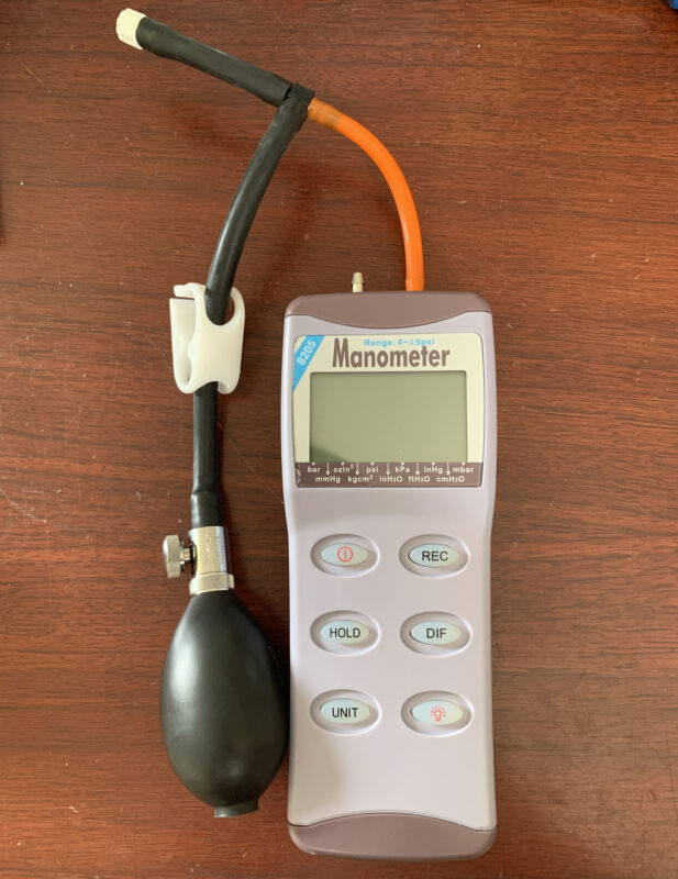 Omega 8205 Digital Manometer 0~+/- 5PSI