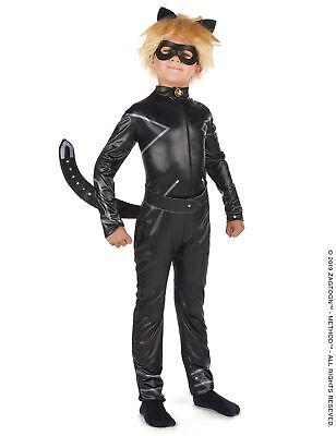 Cat Noir-Kinderkostüm für Jungen Miraculous-Verkleidung schwarz - Jungen Märchen Kostüme