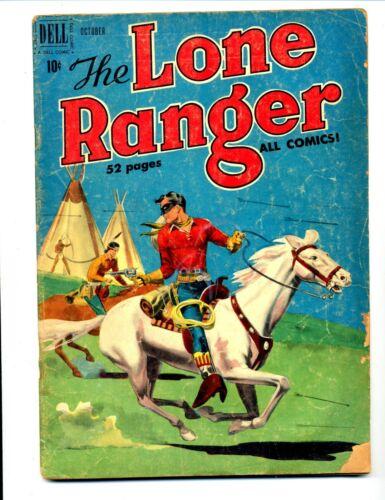Lone Ranger #28     Dell 1950