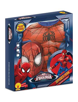 Ultimate Spider-Man Deluxe Kostüm für Kinder - Neues - Spider Man Neue Kostüm