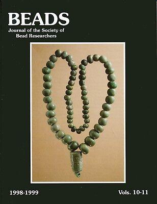 BEADS 10-11: Maya Jade, Imitation Stone, Idar Oberstein, Sarawak Melenau, Drills