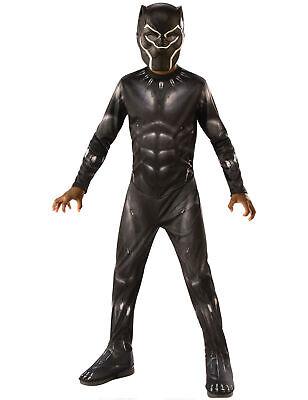 Black Panther-Kinderkostüm für Jungen schwarz - Kind Kostüme Für Jungen
