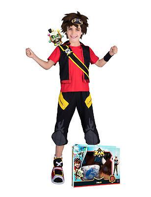 Zak Storm- Lizenz-Kinderkostüm mit Geschenkbox bunt - Storm Kostüm Kinder