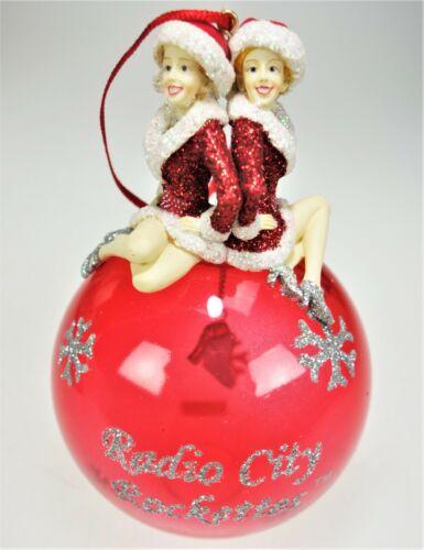 2006 Radio City Rockettes Christmas Spectacular Holiday Ornament Ball Orb