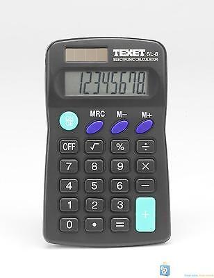 Texet 8 Digit Pocket Calculator