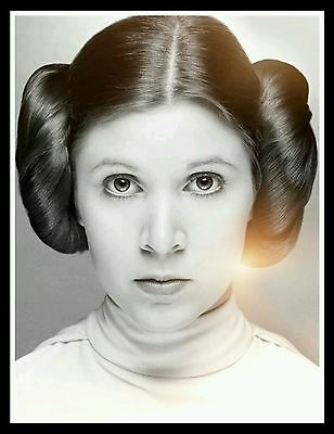 Rip Star Wars 2017 Carrie Fisher Tribute Princess Leia Poster 13 20 24 36 48 32