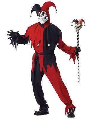 Kostüm verrückter Joker für Männer Cod.231332 ()