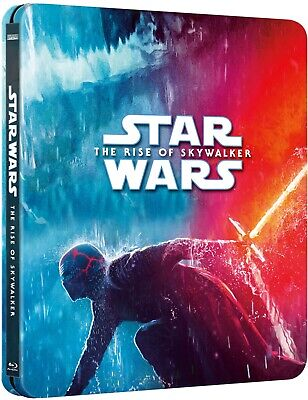 Star Wars The Rise Of Skywalker - Zavvi 4K UHD Limited Steelbook
