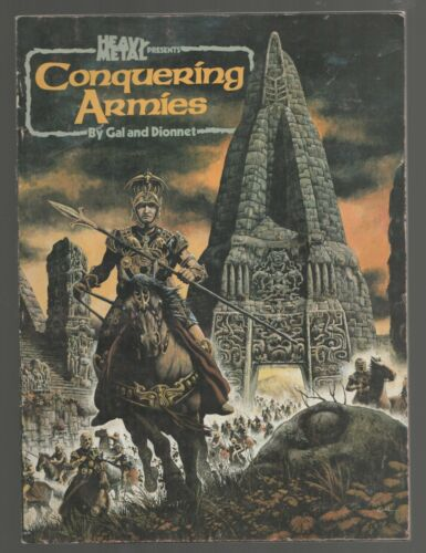 Conquering Armies by Gal and Dionnet Heavy Metal Magazine