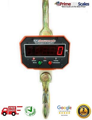 10000 Lb Overhead Hanging Digital Weighing Crane Scale W Remote 5 Tons