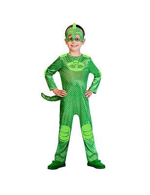 Gecko Kinderkostüm für Jungen PJ Masks Lizenzartikel grün - Kind Kostüme Für Jungen