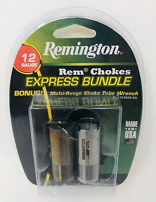 New in Package Remington Rem Chokes Express Bundle 12 Gauge plus wrench FREESHIP