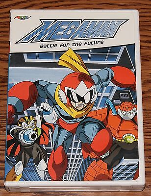 Megaman - Vol. 2: Battle for the Future (DVD, 2003) Action Animation ADV Films