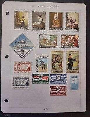 ARABIAN STATES STAMPS • MINT / USED • YAR, YEMEN • TOPICALS • 99¢ LOW START