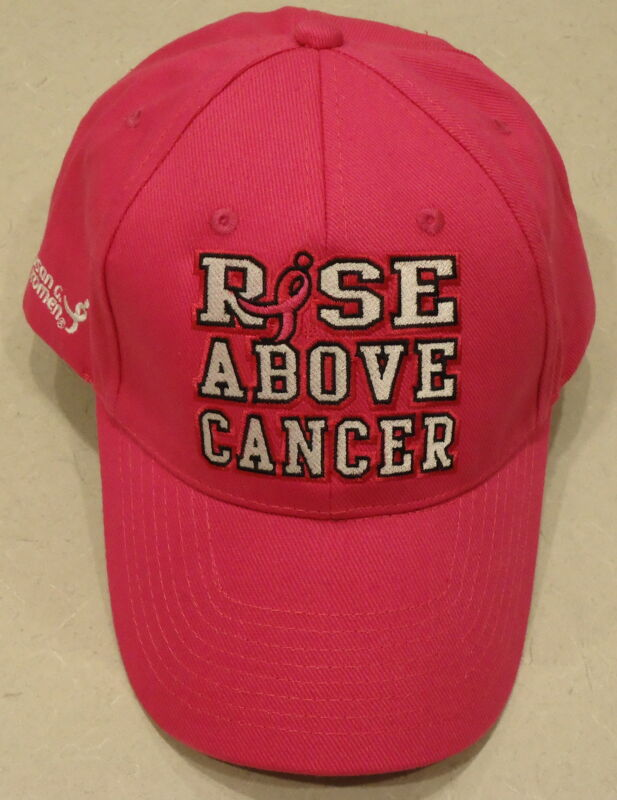 John Cena WWE Authentic RISE ABOVE CANCER PINK BASEBALL HAT CAP -BRAND NEW