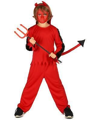 Teufel-Kostüm für Jungen - Teufel Kostüm Junge