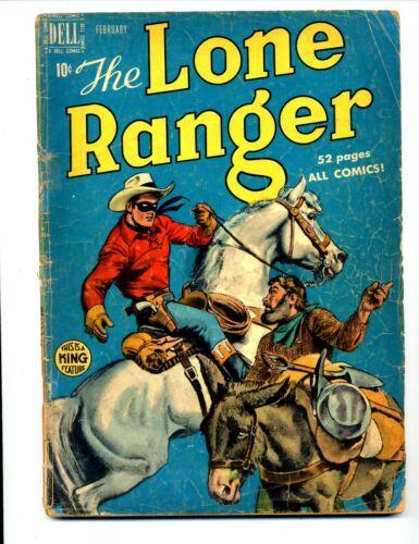 Lone Ranger #20    Dell 1950