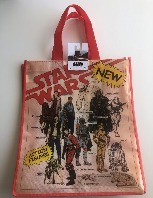 Star Wars Classic & Rare Reusable tote bag.  NEW w/ Tag. Free Shipping