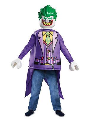 Lego Joker-Kostüm für Kinder bunt Cod.315795