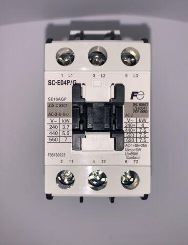 Brand New!!! Fuji Electric Contactor (#SC-E04P/G)