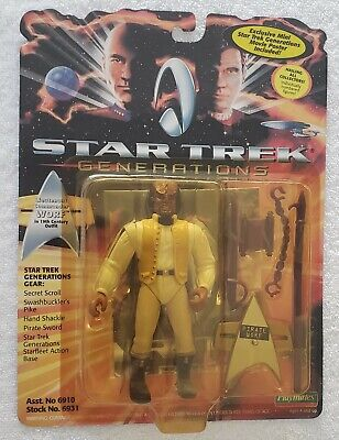 STAR TREK GENERATIONS LT. COMMANDER WORF 19th CENTURY OUTFIT + MINI MOVIE POSTER - Movie Star Outfits