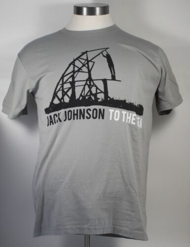 Jack Johnson 2010 TO THE SEA World Tour Concert T-Shirt Size SMALL