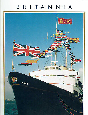 Britannia The Royal Yacht Revealed 1998 Photo Tour Plans Historic Voyages Leith for sale  Saint Louis
