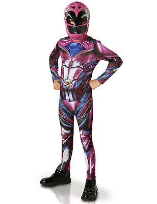 Power Rangers Kinderkostüm Superhelden pink - Cod.239274