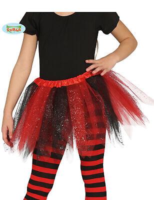 Tütü rot und schwarz für Mädchen - Rot Und Schwarz Tutu