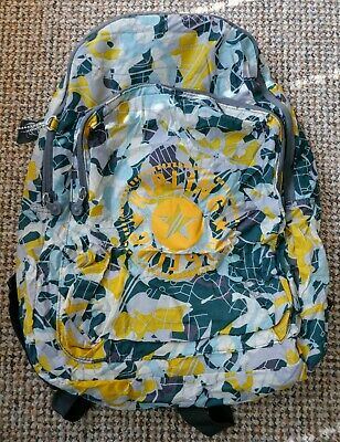Kipling Large Foldable Backpack in Camo Map RRP £44 Travel Rucksack Never Used