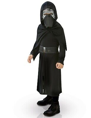 Disney Star Wars Rubie's Deluxe Kylo Ren Child's Costume Kids Fancy Dress