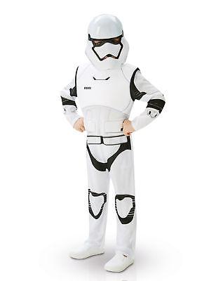 Deluxe Stormtrooper-Kostüm für Kinder aus Star Wars VII Cod.231338 (Storm Trooper Kostüme Für Kinder)